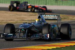 Exemple de DRS, Nico Rosberg, Mercedes GP F1 Team