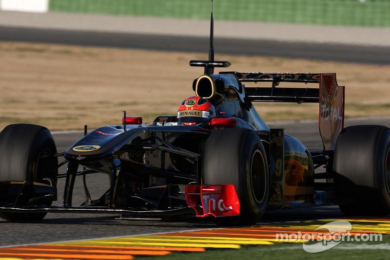 Robert Kubica, Lotus Renault GP, R31 ve his moveable arka kanat