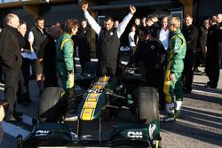 Präsentation: Team Lotus T128