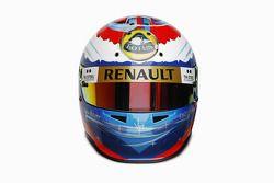 Vitaly Petrov, Lotus Renault GP, kask