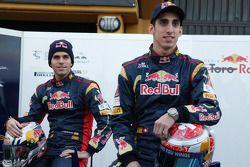 Jaime Alguersuari, Scuderia Toro Rosso; Sebastien Buemi, Scuderia Toro Rosso