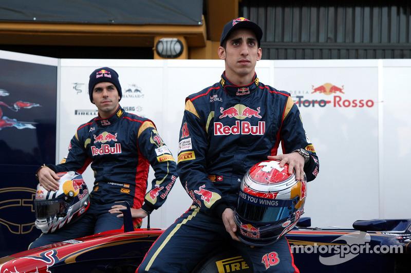 2011 - Toro Rosso, Jaime Alguersuari e Sebastien Buemi
