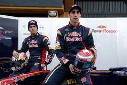 Jaime Alguersuari, Scuderia Toro Rosso y Sebastien Buemi, Scuderia Toro Rosso