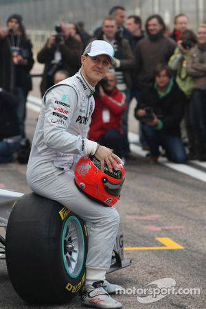Michael Schumacher, Mercedes GP F1 Team