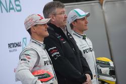Michael Schumacher, Mercedes GP F1 Team Ross Brawn Takım Patronu, Mercedes GP ve Nico Rosberg, Merce
