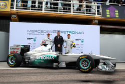 Michael Schumacher, Mercedes GP F1 Team ve Ross Brawn Takım Patronu, Mercedes GP ve Nico Rosberg, Me