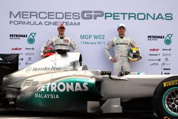 Michael Schumacher, Mercedes GP F1 Team; Nico Rosberg, Mercedes GP F1 Team