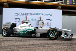 Michael Schumacher, Mercedes GP F1 Team ve Nico Rosberg, Mercedes GP F1 Team