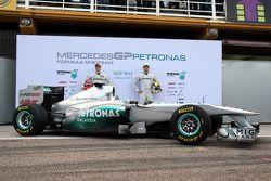 Michael Schumacher, Mercedes GP F1 Team; Nico Rosberg, Mercedes GP F1 Team