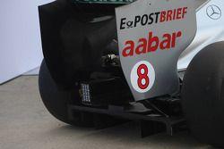 Mercedes MGP W02: Heckparti