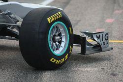 Mercedes MGP W02: Frontpartie