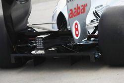 Mercedes MGP W02: Diffusor