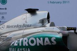 Mercedes MGP W02: Airbox