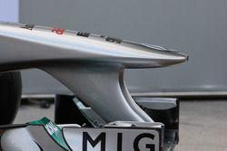 Mercedes MGP W02: Nase