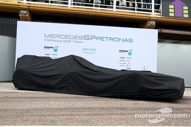 Mercedes GP MGP W02 lansmanı