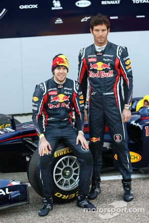 Sebastian Vettel, Red Bull Racing ve Mark Webber, Red Bull Racing