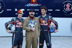 Sebastian Vettel Red, Bull Racing; Mark Webber Red Bull Racing