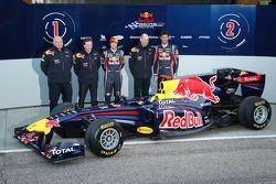 Rob Marshall, Red-Bull-Racing-Chefdesigner; Christian Horner, Red-Bull-Racing-Teamchef; Sebastian Ve