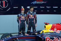 Sebastian Vettel und Mark Webber, Red Bull Racing