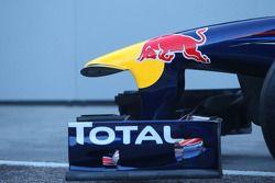 Der Red Bull Racng RB7: Frontflügel