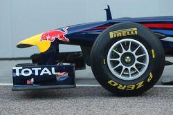 Der Red Bull Racng RB7: Frontspoiler