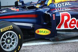 Der Red Bull Racng RB7: Seitenkasten