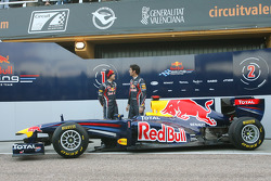 Sebastian Vettel, Red Bull Racing with Mark Webber, Red Bull Racing