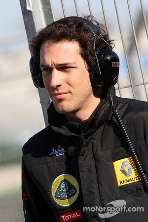 Bruno Senna, pilote d'essais, Lotus Renault GP