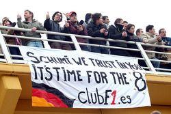 Des fans de Michael Schumacher, Mercedes GP F1 Team