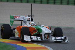 Nico Hülkenberg, Force India F1 Team, Testfahrer