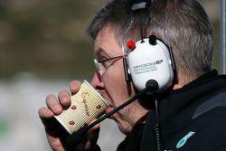 Ross Brawn, directeur technique Mercedes GP