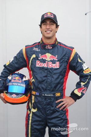 Pilote d'essais de Daniel Ricciardo, Scuderia Toro Rosso