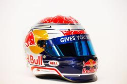 Sebastien Buemi, Scuderia Toro Rosso helmet