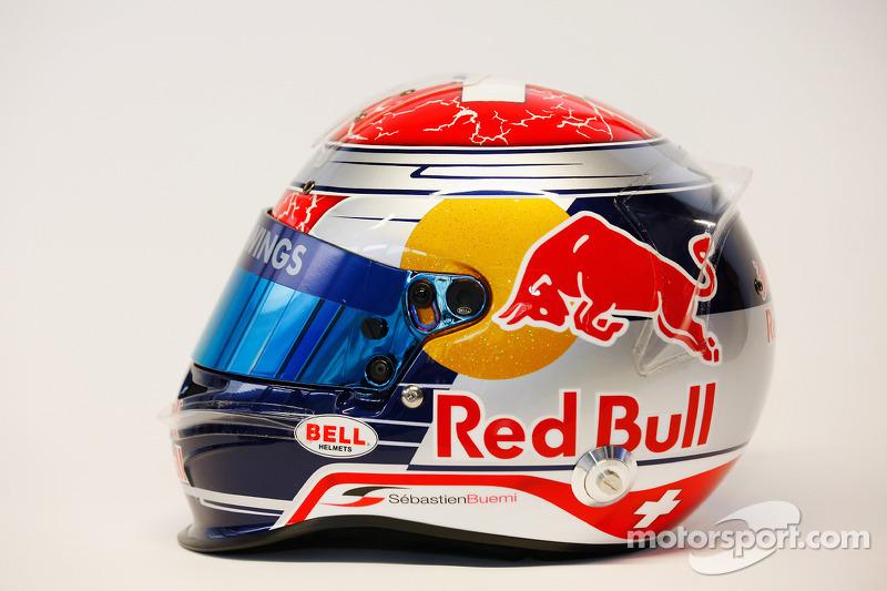 Helm von Sebastien Buemi, Scuderia Toro Rosso