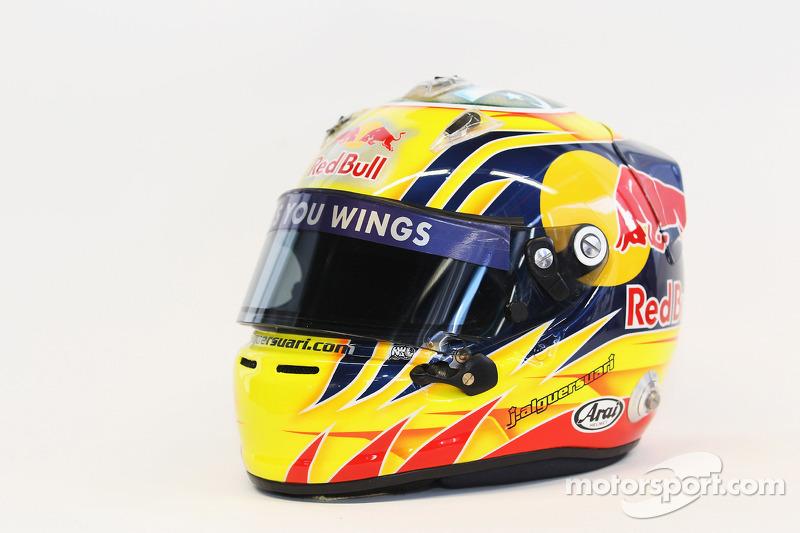 Helm von Jaime Alguersuari, Scuderia Toro Rosso