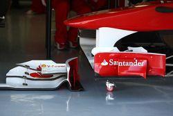 Aileron avant de la Scuderia Ferrari, F150