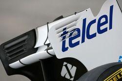Aileron arrière de la nouvelle Sauber F1 Team C30