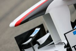 Aileron avant de la nouvelle Sauber F1 Team C30