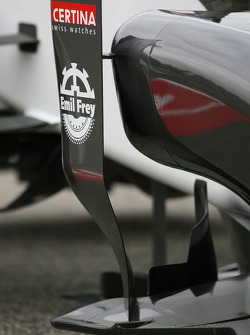 New Sauber F1 Team C30 technical detay