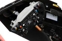 Lenkrad des neuen Sauber C30
