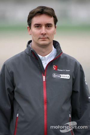 James Key, directeur technique, Sauber F1 Team