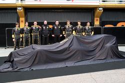 Jan Charouz, Bruno Senna, Robert Kubica, Lotus Renault GP, Gerard Lopez Genii Capital, Lotus Renault