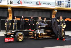 Jan Charouz, Bruno Senna, Gerard Lopez Genii Capital, Lotus Renault GP, Eric Boullier, Team Principa
