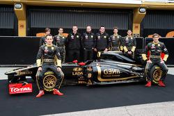 Robert Kubica, Lotus Renault GP, Jan Charouz, Bruno Senna, Gerard Lopez Genii Capital, Lotus Renault