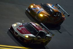 #81 DragonSpeed Ferrari 430 Challenge: Doug Baron, Fred Poordad, Cort Wagner, #63 Team Spencer Motor