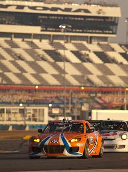 #63 Team Spencer Motorsports Mazda RX-8: Jim Downing, Richard Grupp, David Murry, Dennis Spencer, Ow