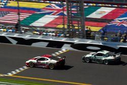 #81 DragonSpeed Ferrari 430 Challenge: Doug Baron, Fred Poordad, Cort Wagner, #44 Magnus Racing Porsche GT3: Marco Holzer, Richard Lietz, John Potter, Craig Stanton