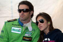 Ricardo Zonta avec sa fiancée