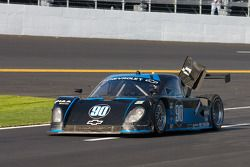 #90 Spirit of Daytona Racing Chevrolet Coyote: Paul Edwards, Antonio Garcia, Sascha Maassen on pit l