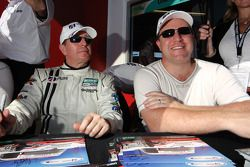 Martin Brundle and Zak Brown